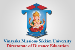Graduation in one year degree in single sitting vinayaka the vinayaka missions sikkim universityvmsu sikkim was established in the year 2008 as per the statutory provisions under the vinayaka missions sikkim yadclub Choice Image